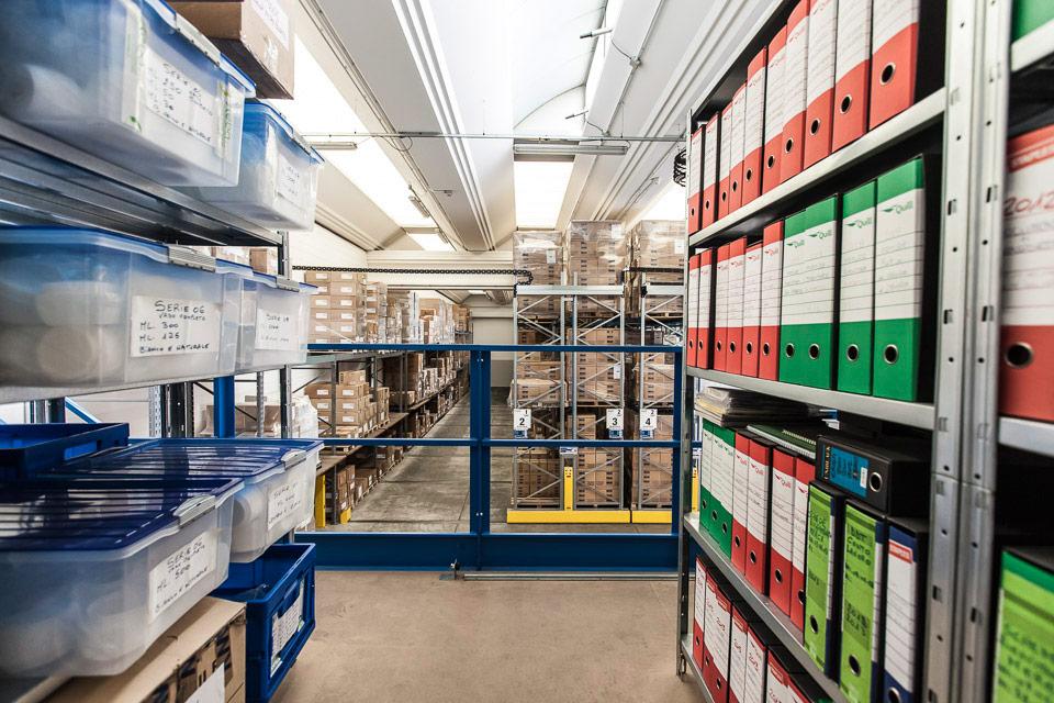 packaging cosmetici online, Steba, organizzazione magazzino