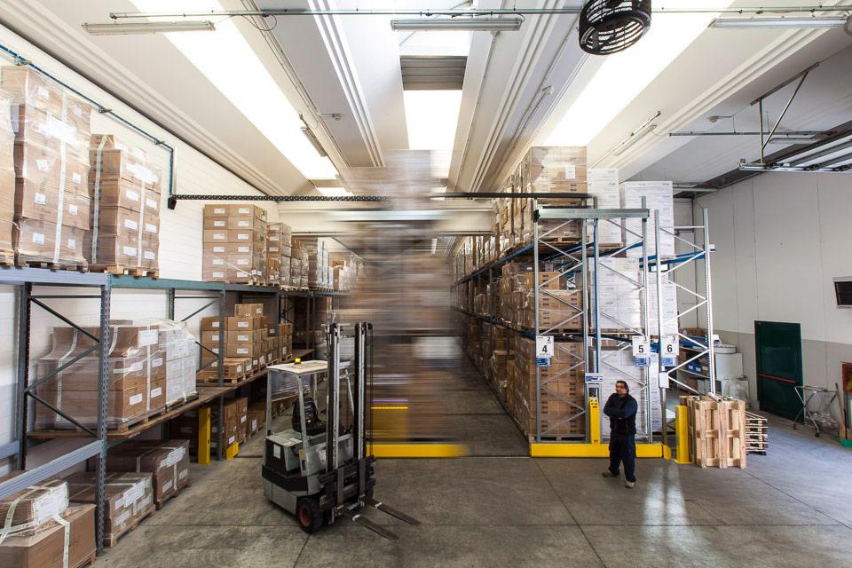 packaging cosmetici online, Steba, magazzino ottimizzato