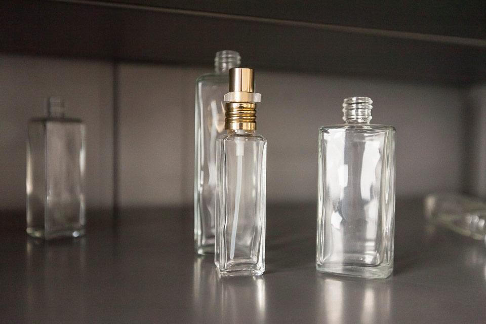 Serigrafia tampografia, Servizi Steba, packaging cosmetici vetro