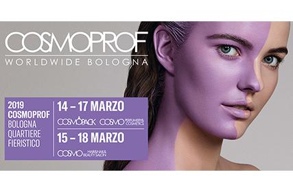 Steba Srl ha partecipato a Cosmoprof 2019 Worldwide Bologna