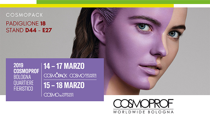 Steba Srl a Cosmoprof 2019, Bologna, home