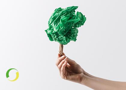 Packaging plastica riciclata e scenario
