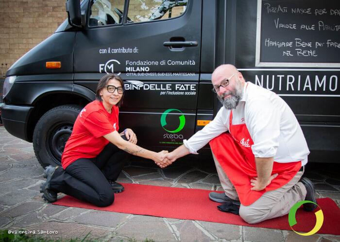 Steba partecipa al lancio del food truck PizzAut_low