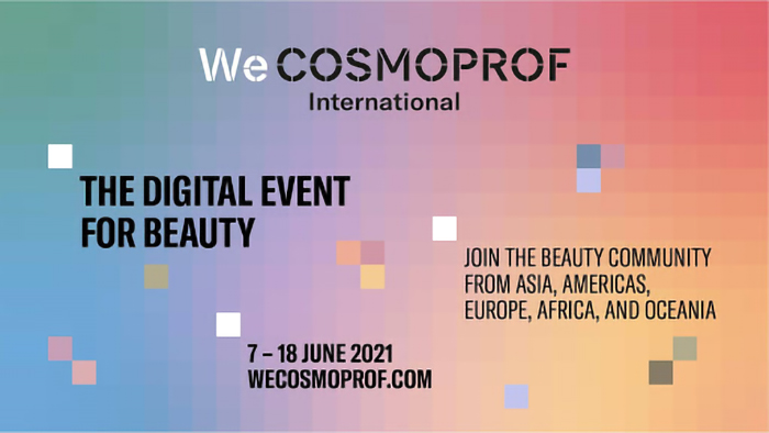 WeCosmoprof International 2021, evento digital Steba